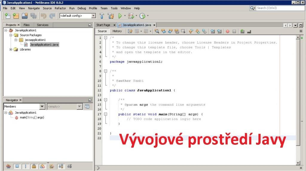 programovací okno Java - skoleni-itc.cz
